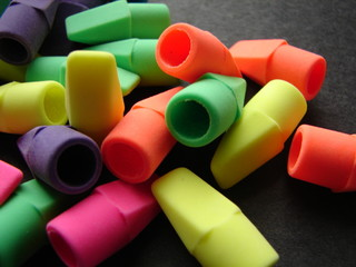 Colorful Erasers