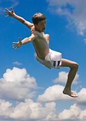 Nice jumping