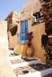 Old house on Santorini island