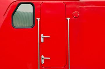 Sicherheitstür einer Lokomotive