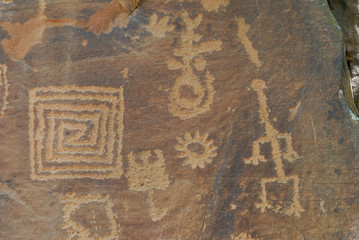 Anasazi Indian Petroglyphs