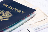 Travel documents poster