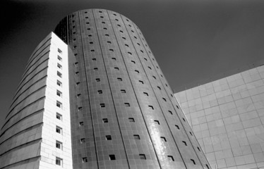 Abstract architecture on the world expo ii Sevilla Spain in 1993