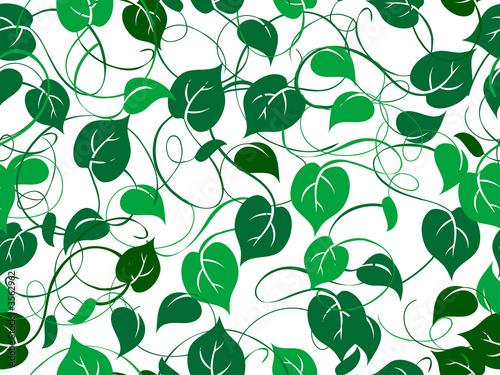 Seamless foliage pattern - 3562962
