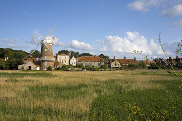 The North Norfolk coast at Cley