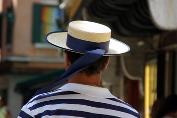 Venedig - Gondoliere Hut