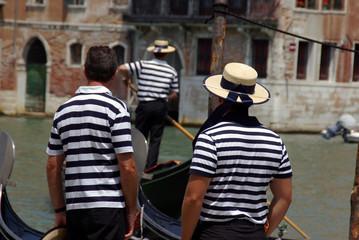 Venedig - Venezia - Gondoliere