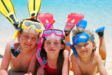 Fototapety swimmers
