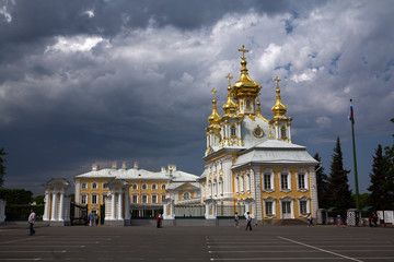 peterhof. big palace -2