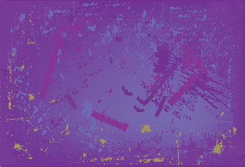 Blue/purple vector grunge background