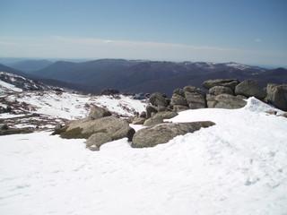 Thredbo, Snowy Mountains of Australia