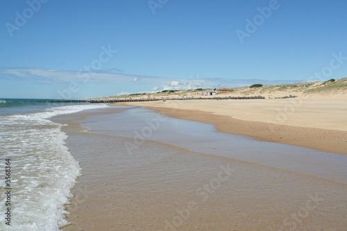 plage en Aquitaine