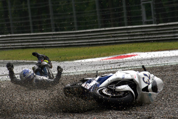 motorbike crash