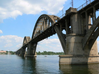 Dnepr bridge