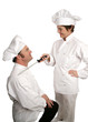 new chef being knighted