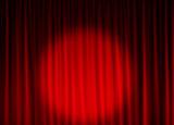 Spotlight on Curtain poster