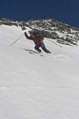 Ski touring in Tatra Mountains