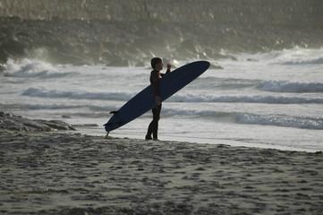 Surf boy portrait