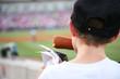 Corndog at the baseball game - 3581172