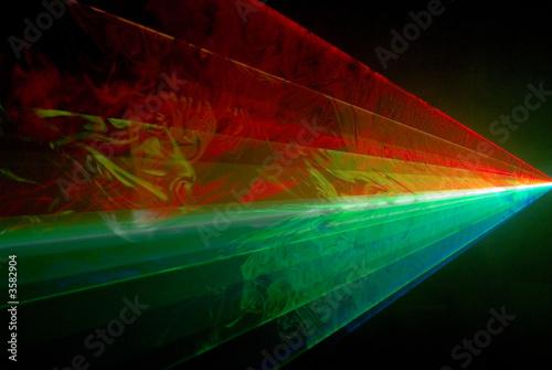 Aluminium Licht, schaduw laser multicolor