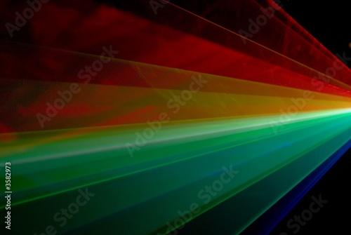 Foto op Plexiglas Licht, schaduw laser multicolor