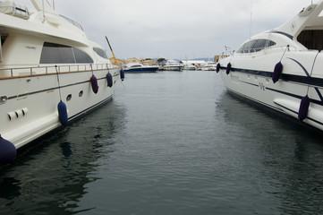 Yachts à Saint Trop'
