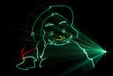 Pere Noel cu laser