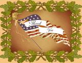 Grusskarte Veterans Day poster
