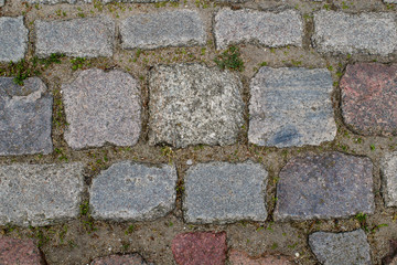 stone paved road texture