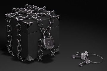 Box, Chain and Padlock