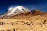 High Andean Volcano poster