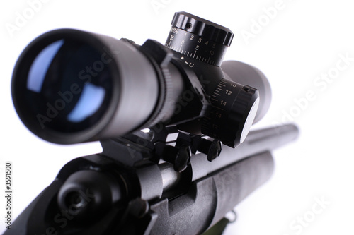 canvas print picture sniper rifle