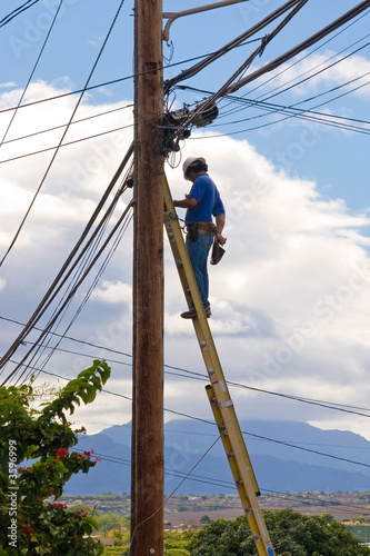 Telephone Repair man