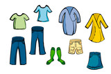 Clothing Items poster