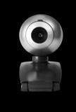 Closeup of a webcam poster