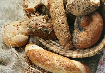 Baked goods still life