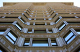 Historic building facade in Chicago, Illinois poster