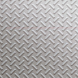 a very large sheet of silver, nickel or alloy diamond plate  poster