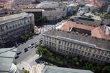 Vue de la ville de Budapest poster
