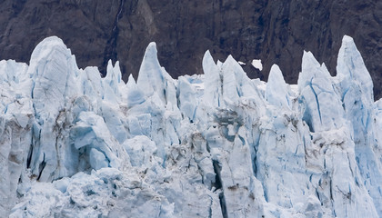 Margerie Glacier in Glacier Bay National Park Alaska