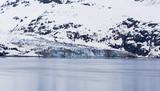 Johns Hopkins Glacier in Glacier Bay National Park Alaska poster