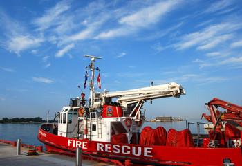 EMS Boat in port
