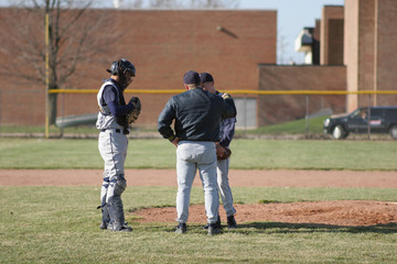 Coach consoles pitcher