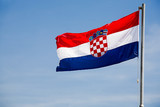 Flag of Republic of Croatia poster