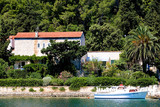 Cozy little holliday home on the beach on the island of Korcula poster