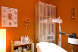 Spa room used for facials poster
