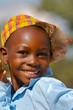 Smiling African boy