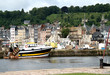 Seaside Town of Honfleur in Normandy France