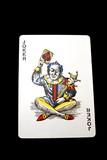 Joker. Playing card. Gambling. Game poster