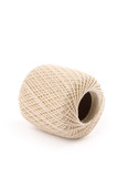 a ball of twine with white background poster